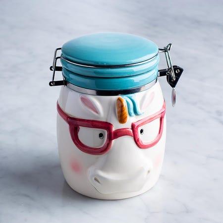 96036_Boston_Warehouse_Flea_Market_'Magical_Unicorn'_Ceramic_Jar