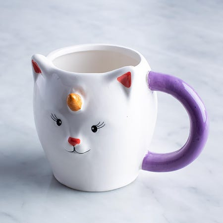 96039_Boston_Warehouse_Flea_Market_Shaped_'Unikitty'_Ceramic_Mug__Multi_Colour