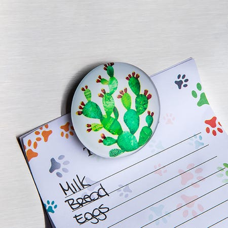96046_Deco_Home_Adorable_'Cactus'_Glass_Magnet__Asstd_