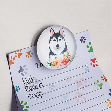96050_Deco_Home_Adorable_'Watercolor_Dogs'_Glass_Magnet__Asstd_