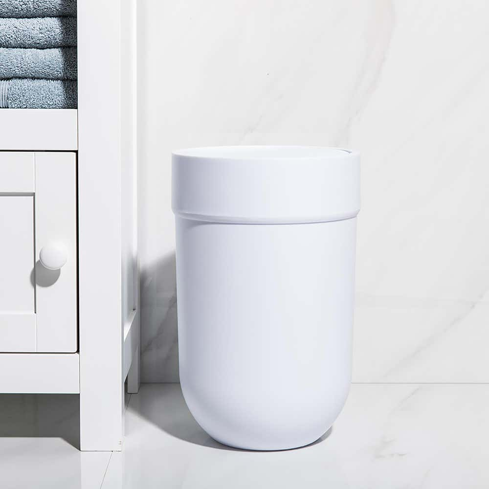 96072_Umbra_Touch_Plastic_Waste_Can_with_Lid__White