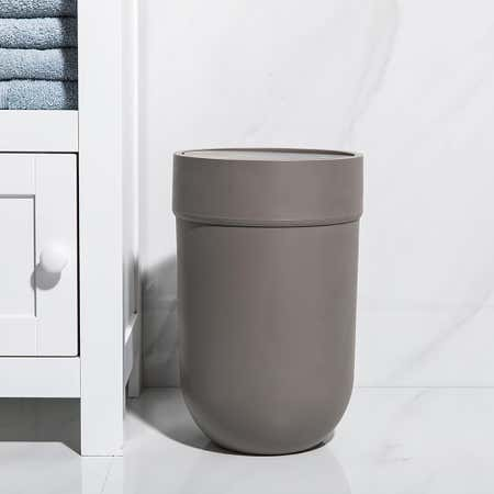 96076_Umbra_Touch_Plastic_Waste_Can_with_Lid__Grey