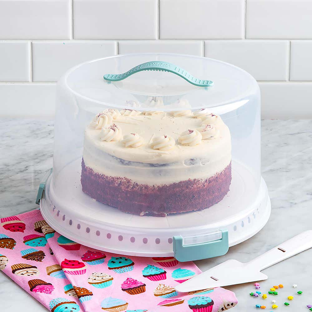 96161_Good_Cook_Sweet_Creations_Cake_Carrier_with_Server__Clear