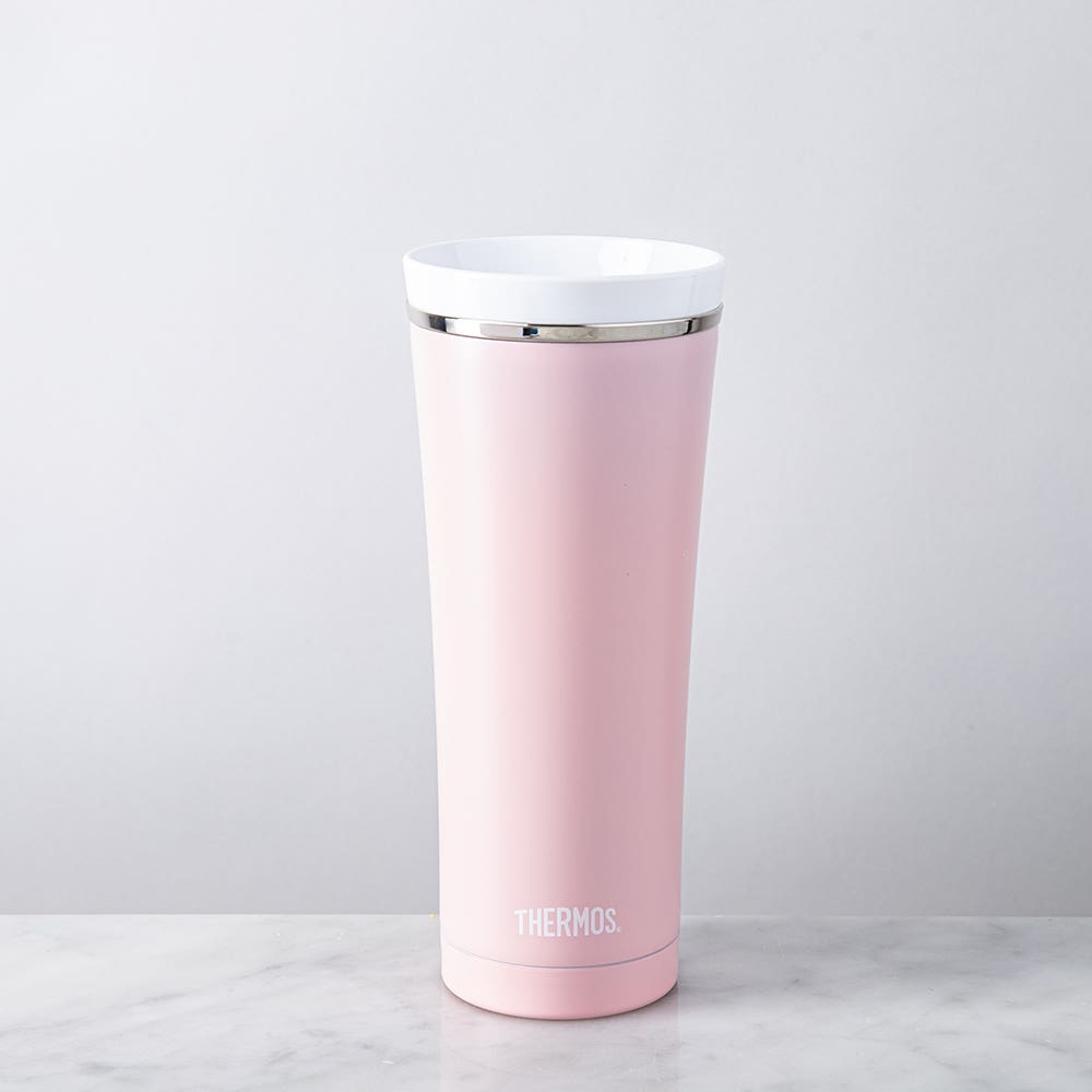 Thermos Premium Double Wall Pastel Pink Thermal Travel Mug