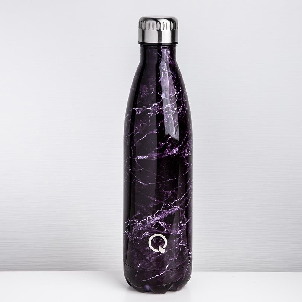96233_KSP_Quench_'Marble'_750ml_Double_Wall_Water_Bottle__Black