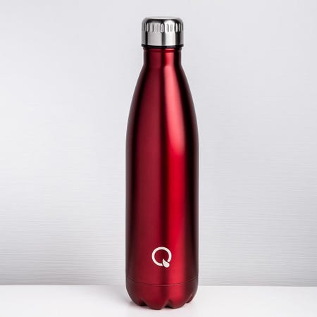 96240_KSP_Quench_'Lustre'_750ml_Double_Wall_Water_Bottle__Red