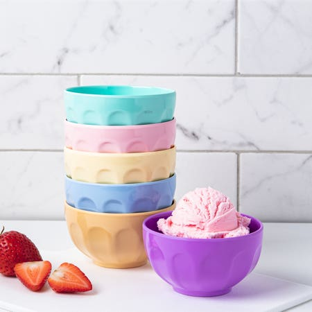 96337_KSP_Colour_Fun_Melamine_Ice_Cream_Bowl___Set_of_6__Multi_Pastel
