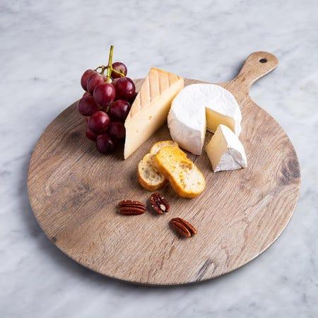 96381_KSP_Woodlook_Melamine_Cheese_Board__Brown