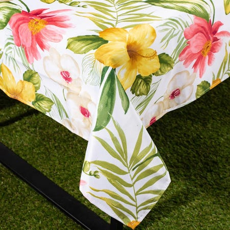 96491_Texstyles_Printed_'Waikiki'_58__x_78__Tablecloth__Beige