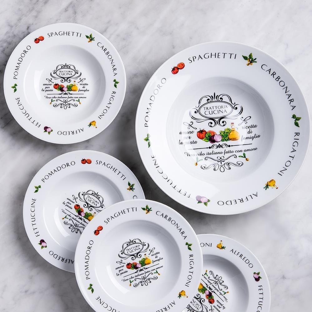 96642_KSP_Tavola_'Trattoria'_Porcelain_Pasta_Bowl___Set_of_5__White