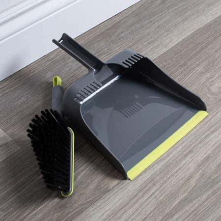 96671_Casabella_Wayclean_Dustpan___Angle_Brush___Set_of_2__Grey_Green