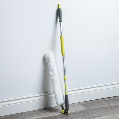 96676_Casabella_Wayclean_High_Reach_Microfibre_Duster__Grey_Green