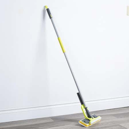 96678_Casabella_Wayclean_Butterfly_Mop_with_Scrubber__Grey_White_Lime
