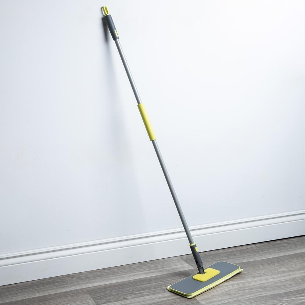 96679_Casabella_Wayclean_Floor_Duster_with_Scrubber__Grey_Green