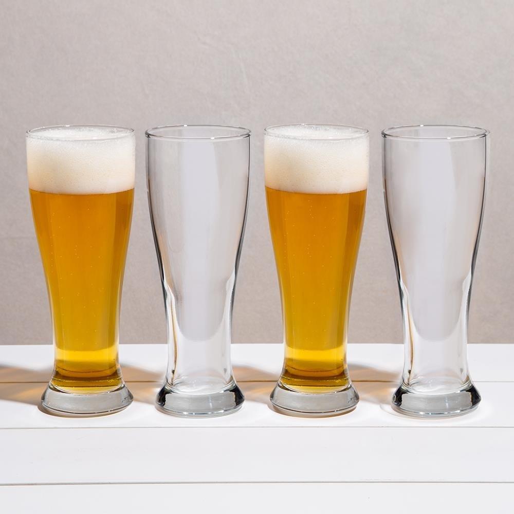 96690_Libbey_Midtown_Beer_Pilsner_Glass___Set_of_4__Clear