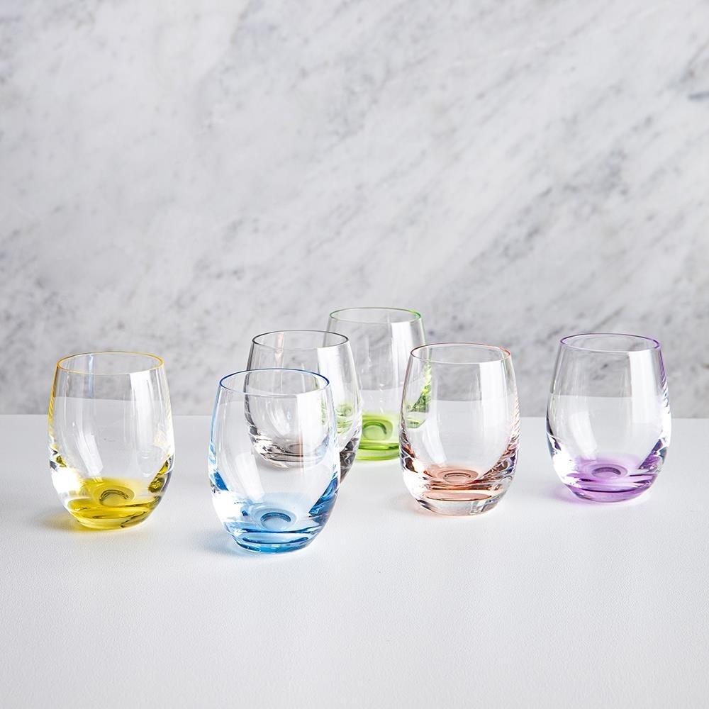 96744_Bohemia_Rainbow_Shot_Glass___Set_of_6__Multi_Colour