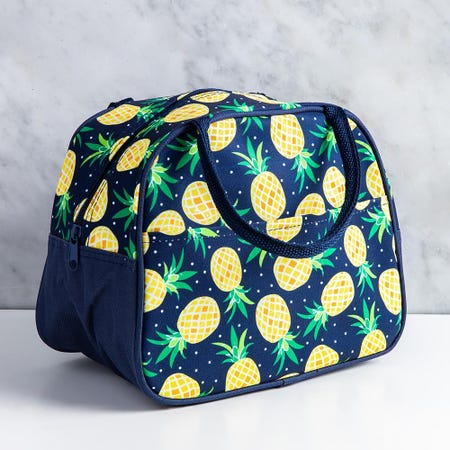 96772_KSP_Duffle_'Pineapple'_Insulated_Lunch_Bag__Multi_Colour