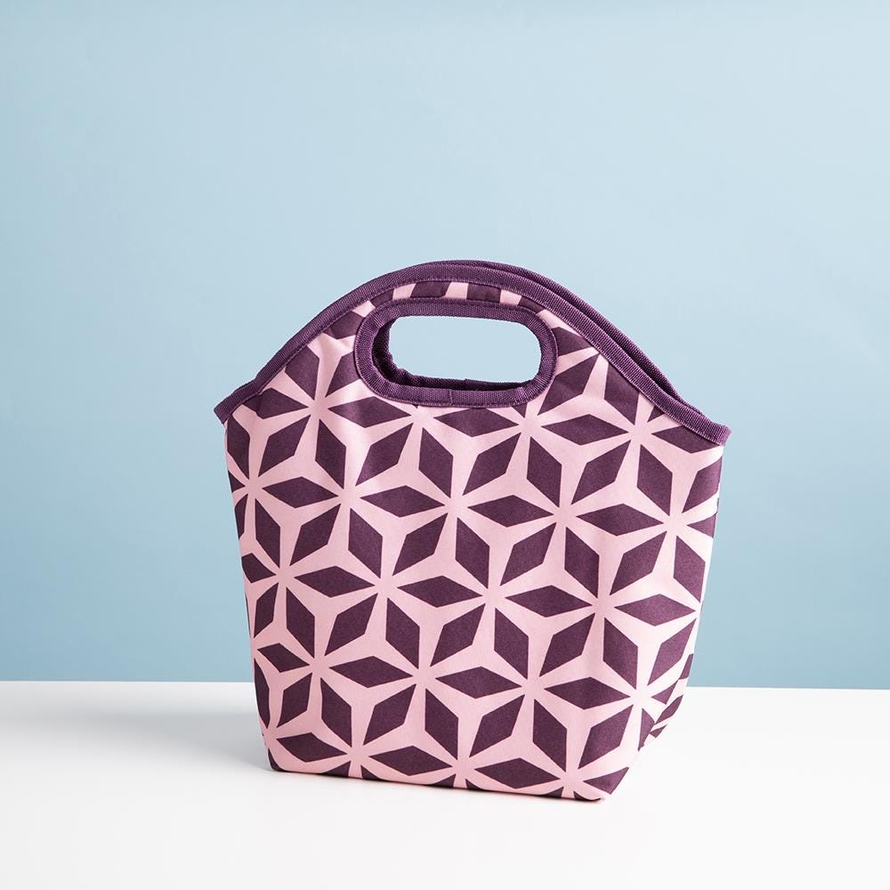 96775_KSP_Bella_'Whimsy'_Insulated_Lunch_Bag__Brown_Pink
