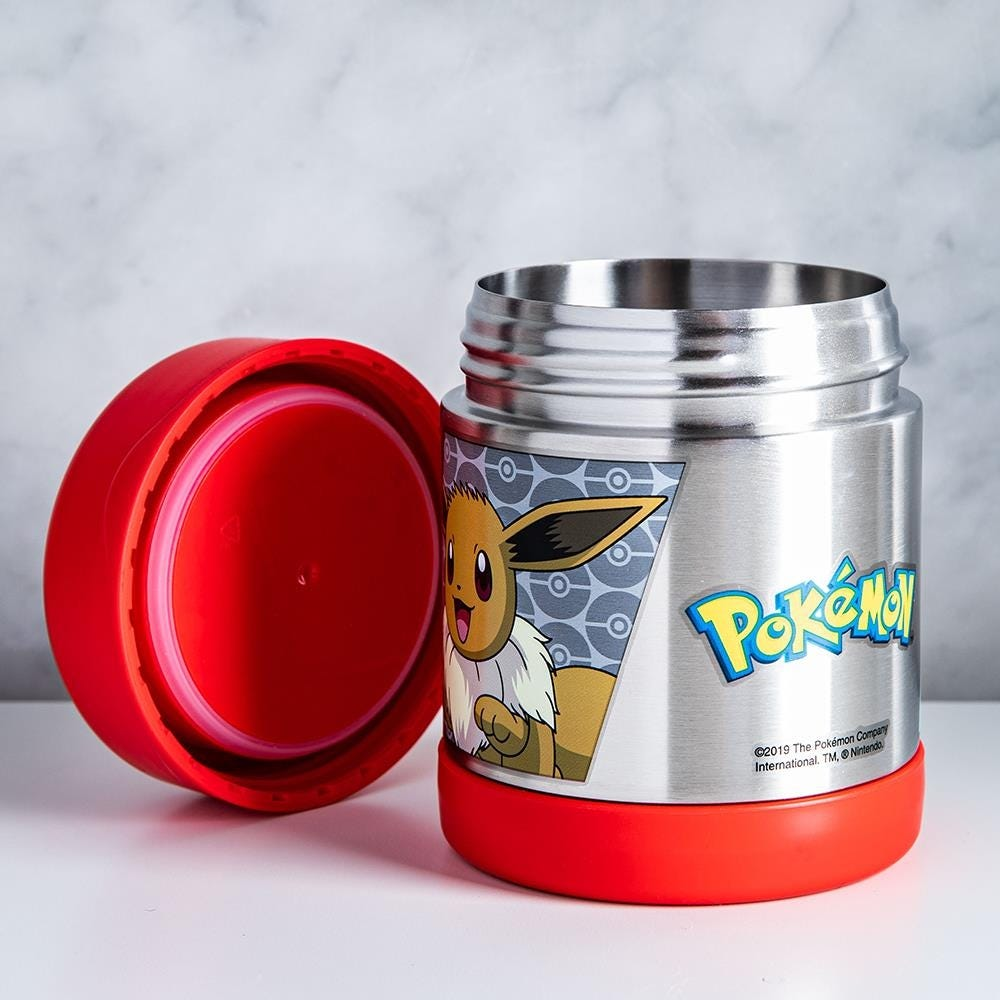 97001_Thermos_Double_Wall_Stainless_'Pokemon'_Thermal_Food_Jar__Red_Yellow