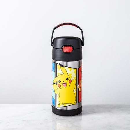 97002_Thermos_'Pokemon'_Funtainer_Sport_Bottle_with_Straw__Red_Yellow