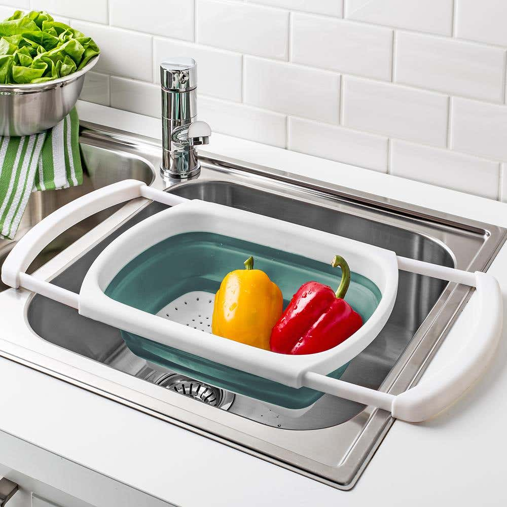 97035_KSP_Stretch_Over_The_Sink_Colander__Teal
