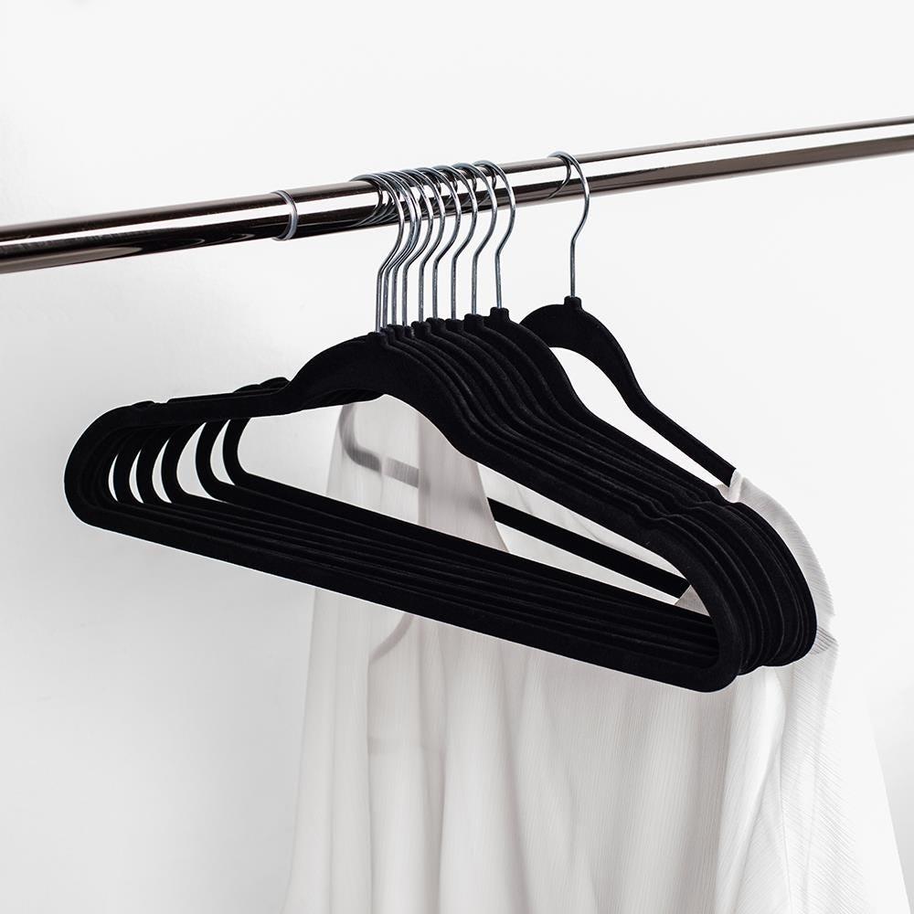 97101_KSP_Velvet_Flocked_Hanger___Set_of_10__Black