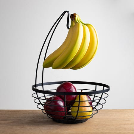 97126_iDesign_Banana_Hanger_Fruit_Basket__Matte_Black