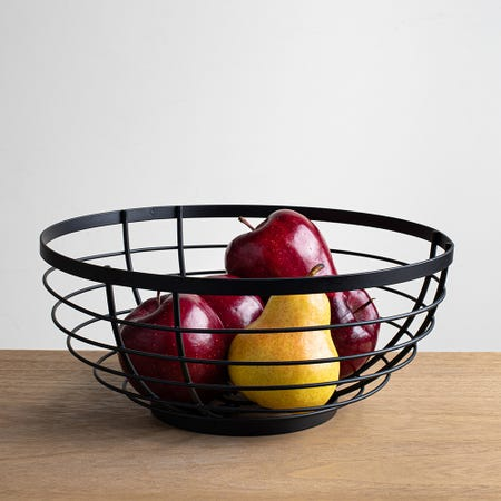 97128_iDesign_Fruit_Basket__Matte_Black
