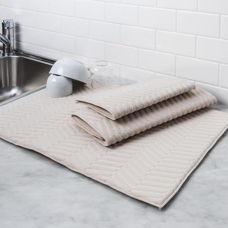 97155_Harman_Well_Kept_'Sculpted'_Dish_Drying_Mat_Combo_Set___Set_of_3__Linen
