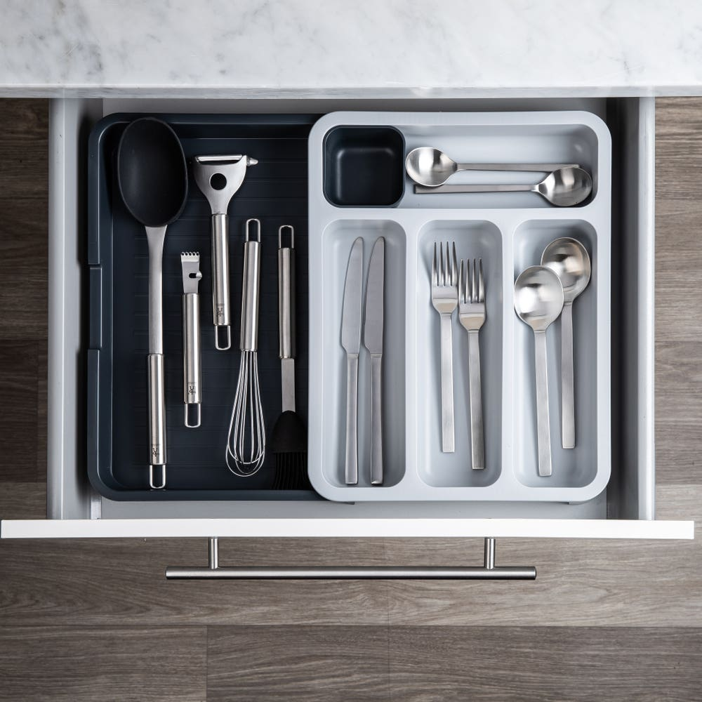 Joseph Joseph Drawerstore Expandable Cutlery Tray (Grey)