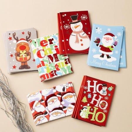 97266_Santa'S_Secrets_Christmas_'Foil'_Gift_Tag___Set_of_24__Asstd_