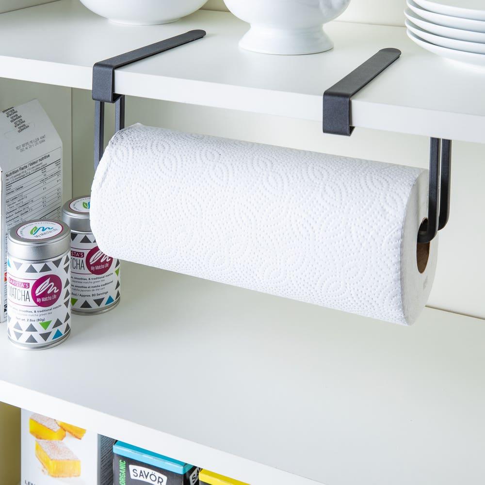 Umbra Squire Otd-Wall Paper Towel Holder (Black)