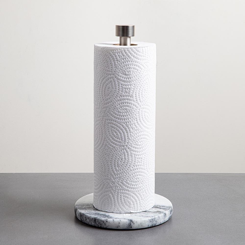 97364_Umbra_Marla_Upright_Paper_Towel_Holder__Brushed_Marble