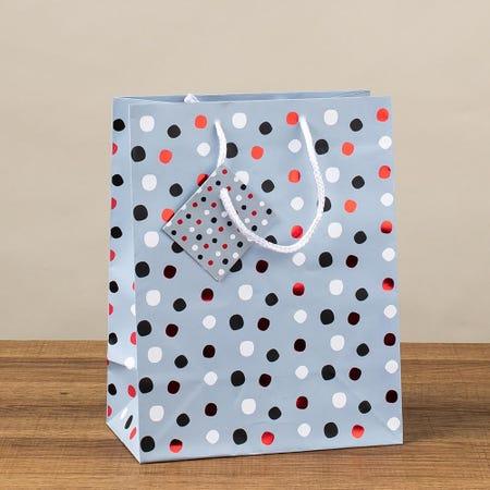 97399_Paper_Trendz_Christmas_'Hotstamp'_Paper_Gift_Bag___Medium