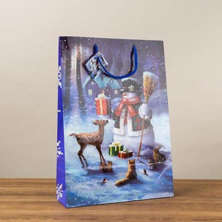 97405_Paper_Trendz_Christmas_'Traditional_Glitter'_Paper_Gift_Bag___Jumbo
