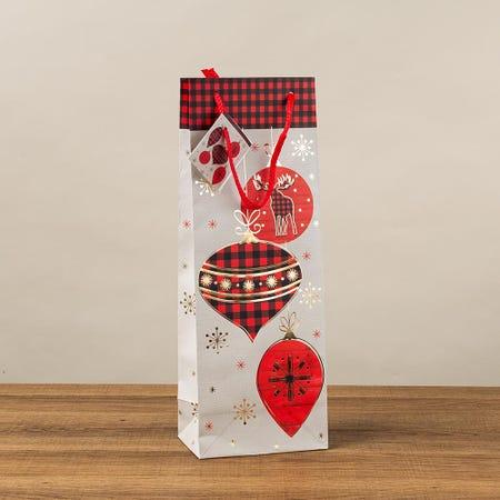97407_Paper_Trendz_Christmas_'Buffalo_Plaid'_Paper_Gift_Bag___Bottle