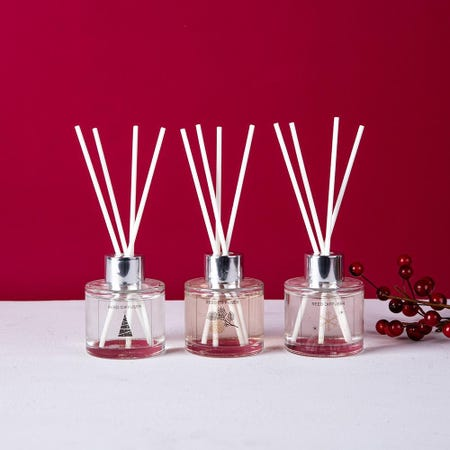 97476_KSP_Christmas_Advent_'Woodsy'_Reed_Diffuser___Set_of_3__Clear