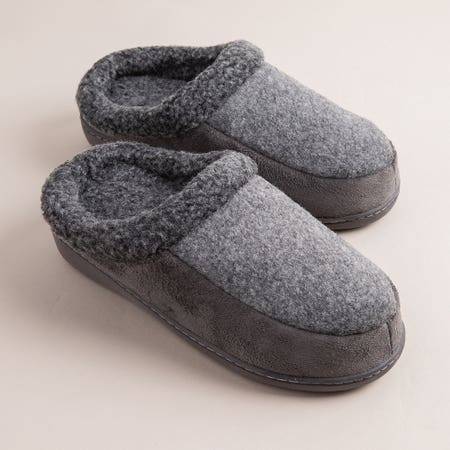 97584_Every_Sunday_Ultra_Soft_'Clog_Style'_Memory_Foam_Slippers_Men__Grey