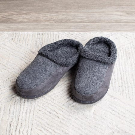 97584_Every_Sunday_Ultra_Soft_'Clog_Style'_Memory_Foam_Slippers_Men__Grey
