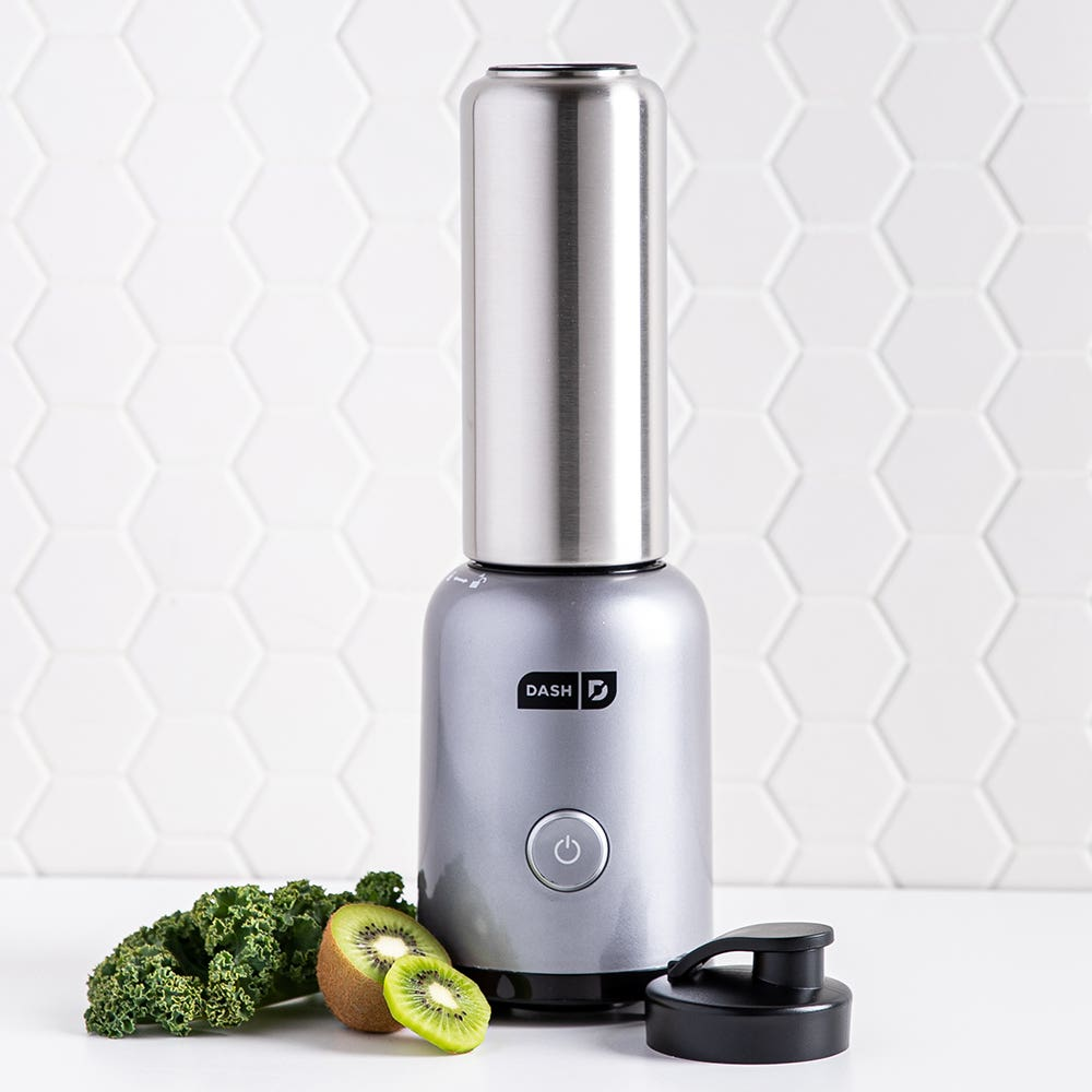 Dash Arctic Chill Personal Blender (Silver/Stainless Steel)