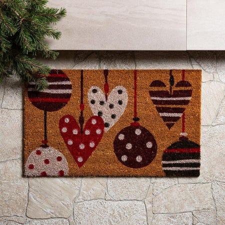 97619_KSP_Christmas_'Ornaments'_Coir_Doormat__Multi_Colour