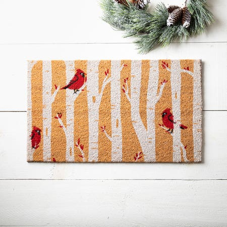 97625_KSP_Christmascoir_'Cardinals'_Coir_Doormat__Multi_Colour