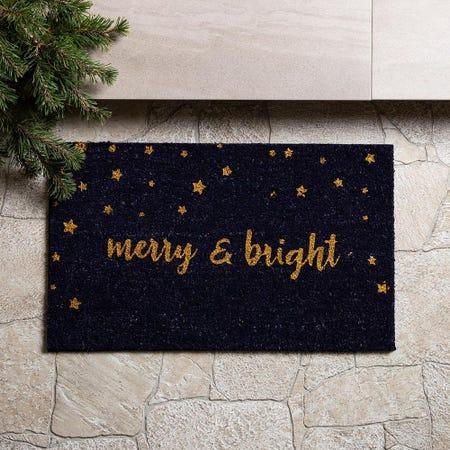 97628_KSP_Christmascoir_'Merry___Bright'_Coir_Doormat__Blue
