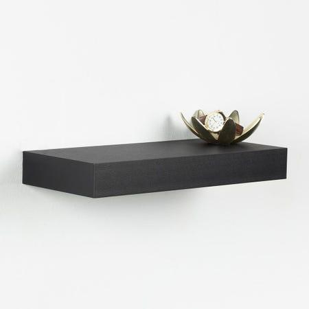 97631_ITY_Floating_'Small'_Wall_Shelf__Black