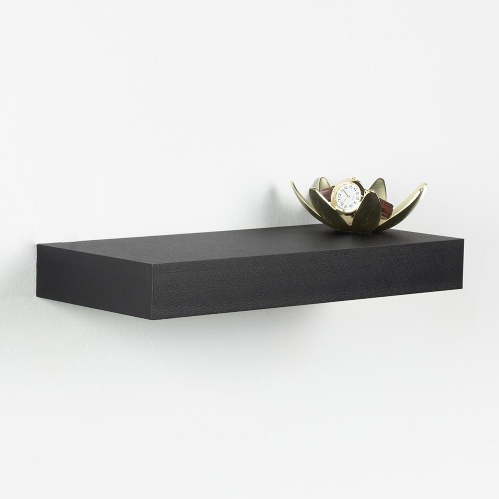 97631_ITY_Floating_'Small'_Wall_Shelf__Black