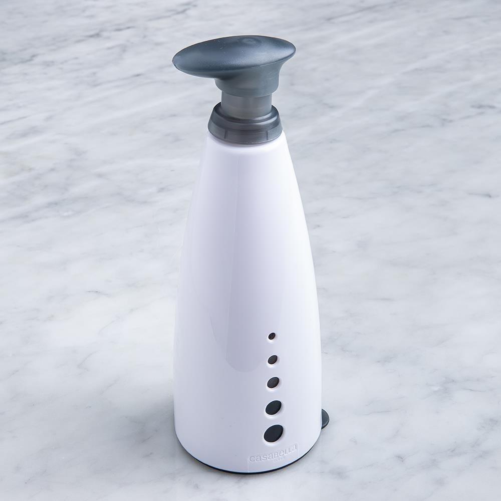 97659_Casabella_Sink_Sider_Soap_Dispenser_with_Funnel__White_Grey