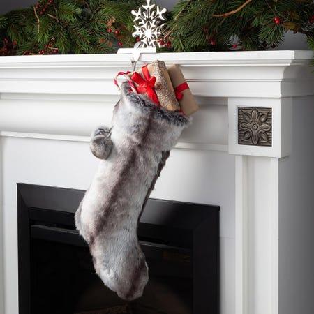 97689_KSP_Christmas_Faux_Fur_Stocking_with_Pom_Poms__Grey
