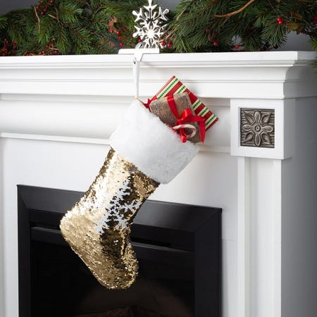 97691_KSP_Christmas_Reversible_Sequin_Stocking_with_Snowflake__Gold_Silver
