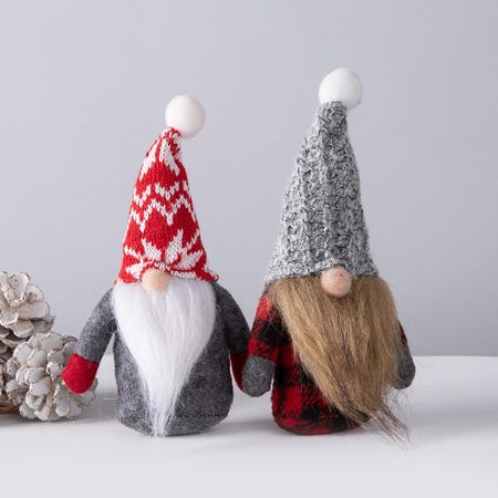 97744_KSP_Gnome_'Nordic'_Fabric_Figurine__Grey