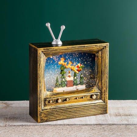 97776_KSP_Christmas_Wonder_'Tv_Santa'_LED_Snow_Globe
